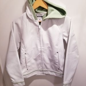 Columbia | Sportswear White Green Jacket Coat
